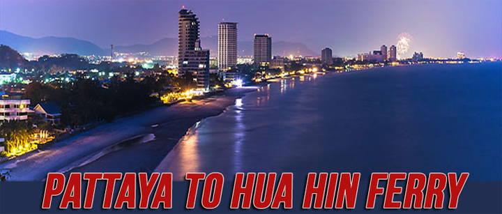 Nieuwe ferry Pattaya Hua Hin per januari 2017