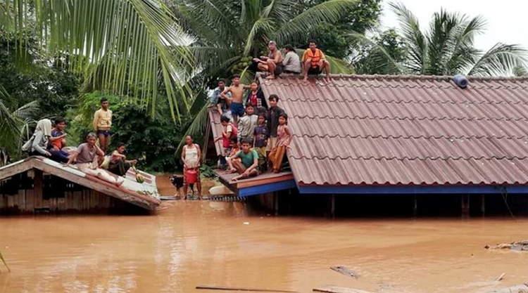 Xe-Pian Dam in Laos doorgebroken