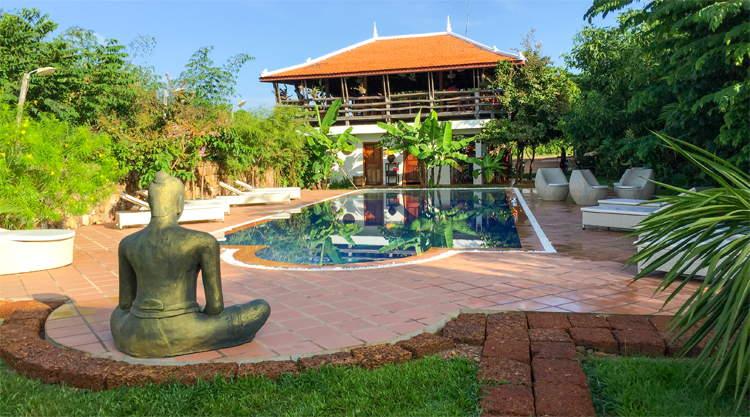 Resort in Kep Cambodja