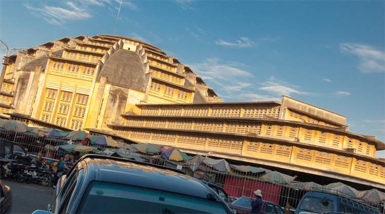 Central Market Phnom Penh Cambodja
