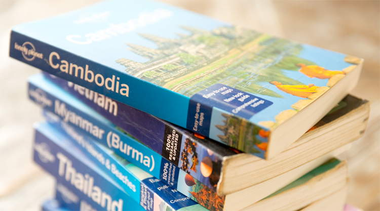 Reisgids Lonely Planet Cambodja Rough Guide
