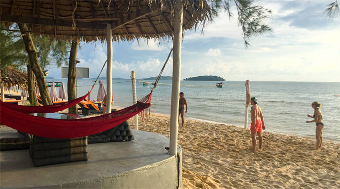 Otres Beach de stranden van Sihanoukville