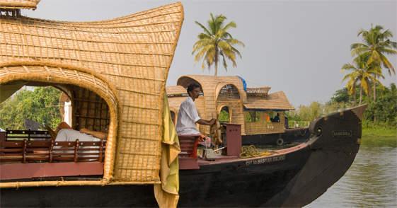 House boat Kerala Backwaters