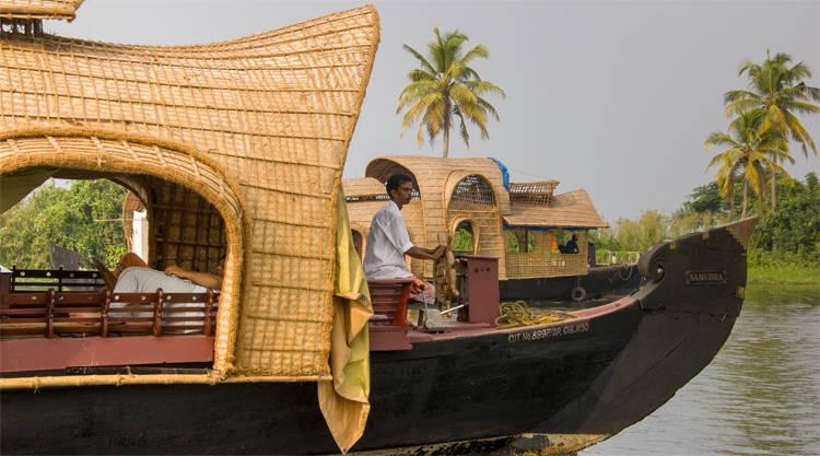 Reisblog Backwaters of Kerala