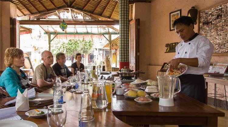 Kookcursus bij Bumi Bali in Ubud