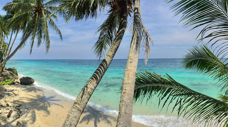 Strand Freddies Pulau Weh Indonesië