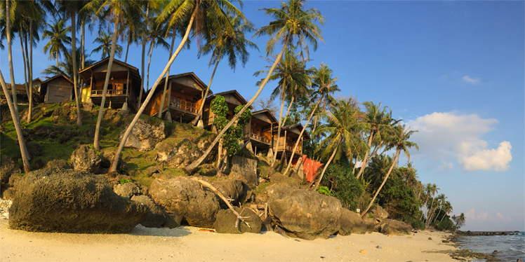 Het eiland Pulau Weh bij Sumatra