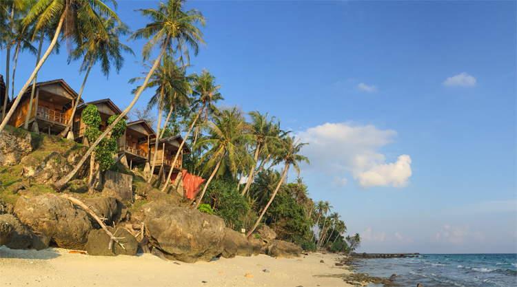 Strand bij Freddies Pulau Weh