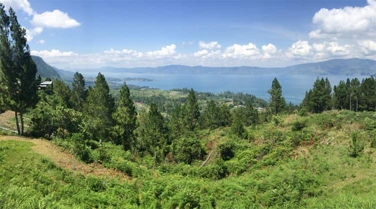 Reisblog Lake Tobaop Sumatra