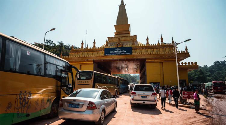 Ha Tien grensovergang Vietnam