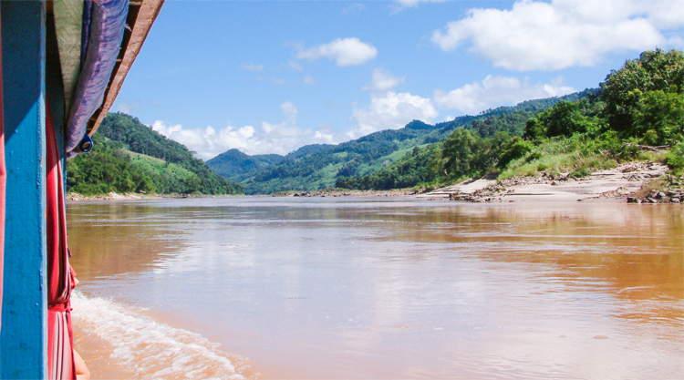 Mekong boottocht Laos