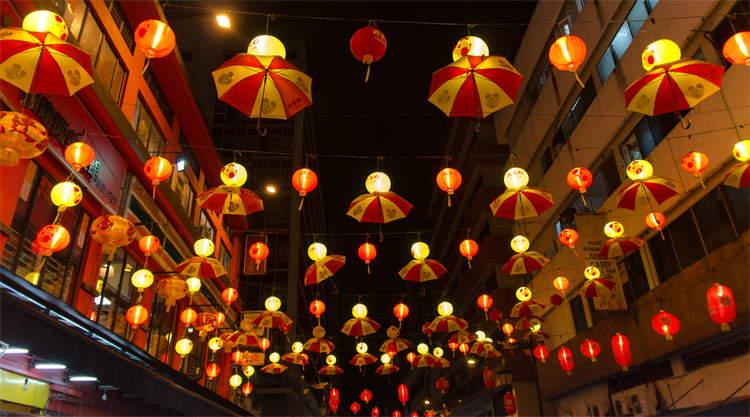 Chinatown in Kuala Lumpur Maleisië