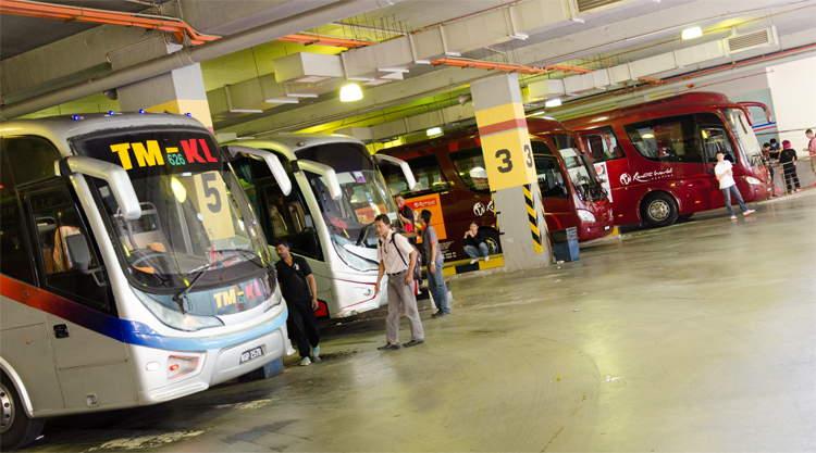 Busstations Kuala Lumpur TBS en Peleliking Bus Terminal