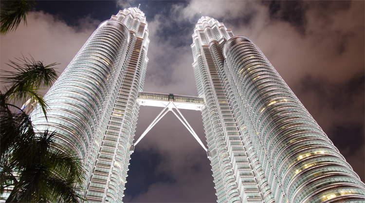Kuala Lumpur Petronas Towers Maleisië