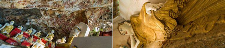 Hpa-An Kawgun Cave Myanmar