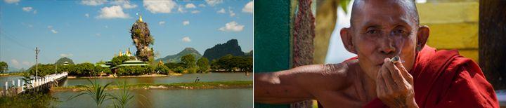 Hpa-An Kyauk Ka Lat Pagoda Myanmar