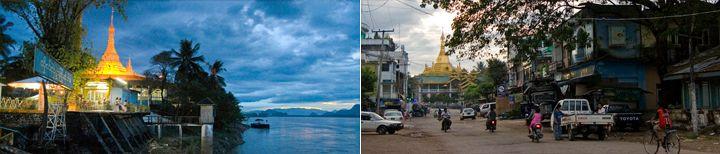 Bezienswaardigheden Hpa-An Shweyinhmyaw Paya Myanmar