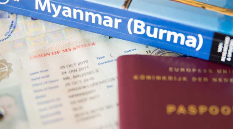 Visum Myanmar aanvragen