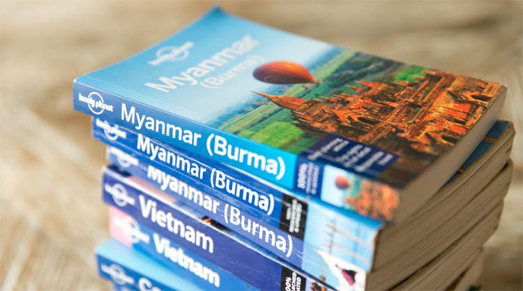 Reisgidsen Myanmar Lonely Planet Rough Guide