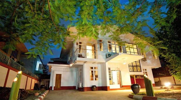 Guesthouses & hotels Yangon Myanmar