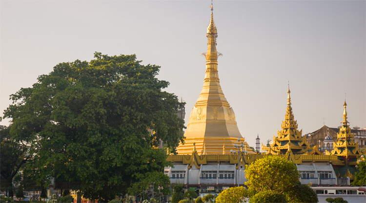 Bezienswaardigheden Yangon Myanmar