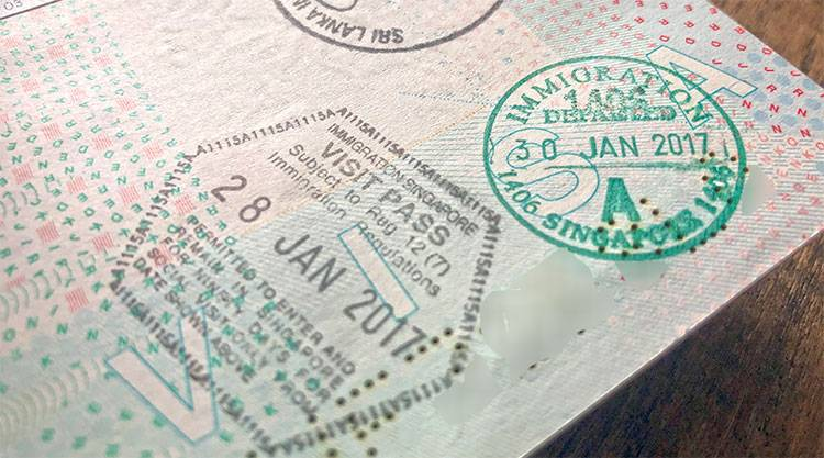 Visum Singapore aanvragen
