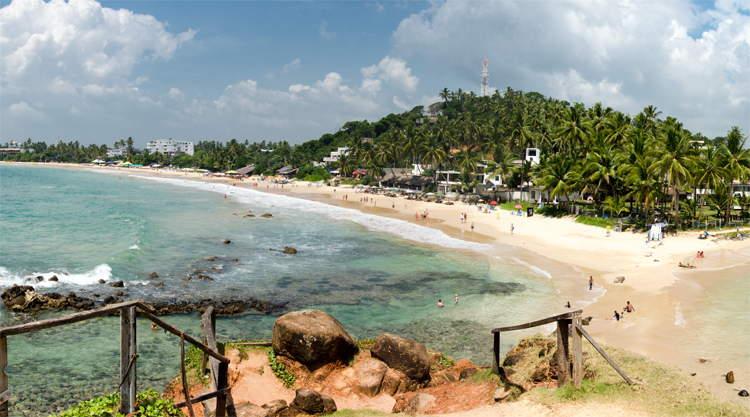 Mirissa Bach Parrot Rock Sri Lanka