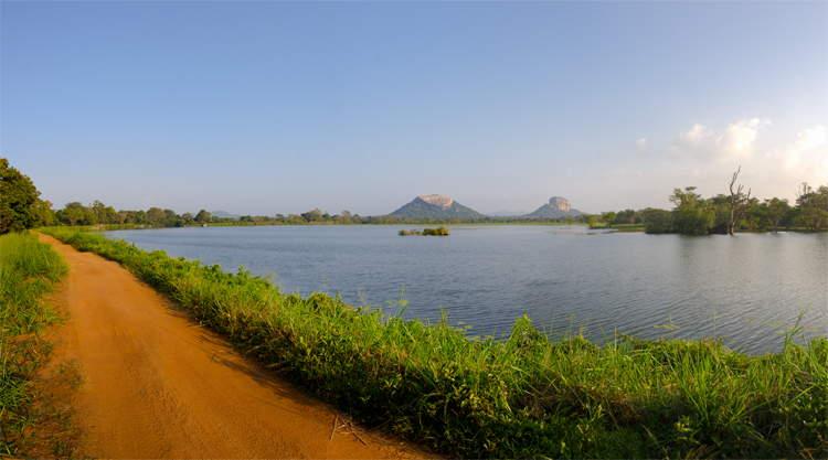 Sigiriya (Lion's Rock) en Pidurangala ROck