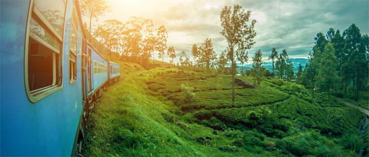 Treinrit van Ella naar Kandy
