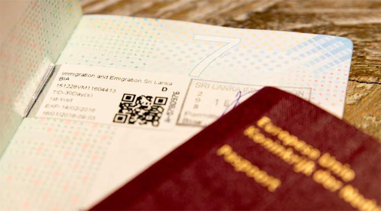 Visum Sri Lanka Online Visa application