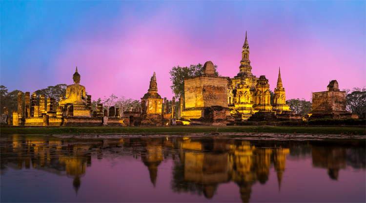 Ayutthaya Phra Nakhon Si tempel