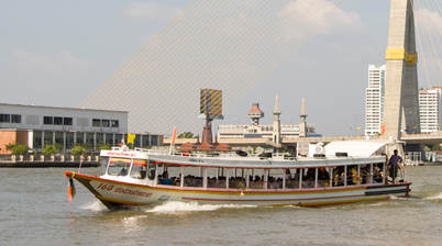 Chao Phraya River Express boottaxi