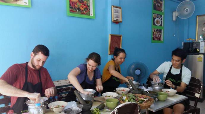 Lemongrass Bangkok Cooking School