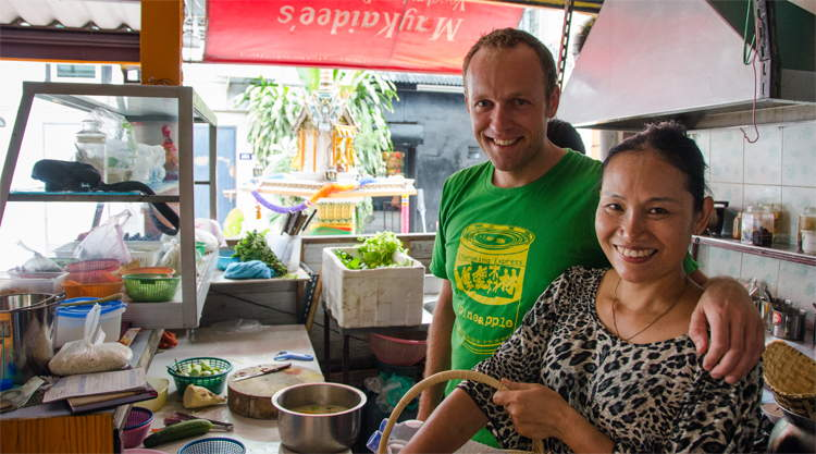 Kookcursus bij May Kaidee in Bangkok