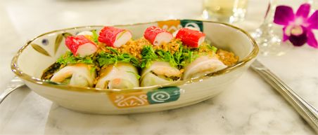 10 must eats Thailand - Steamed fish rolls bij Restaurant Harmonique