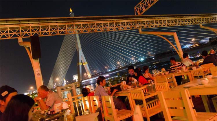 Restaurant Khin Lom Chom Saphan Bangkok