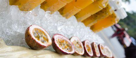 10 must eats Thailand - vers passievruchtensap bij food stalls