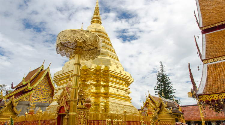 Doi Suthep tempel Chiang Mai Thailand