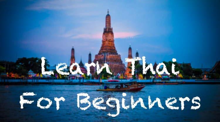 Cursus Thai voor beginners leren