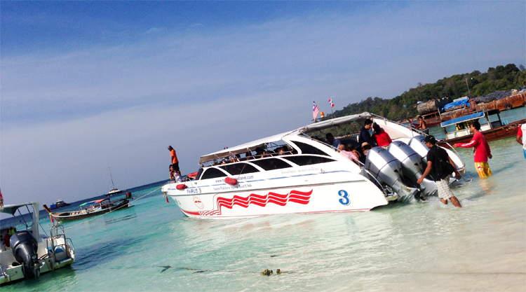 Eilandhoppen Thailand Andaman Zee
