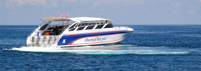 Eilandhoppen Thailand Bundhaya Speedboat Andaman Zee