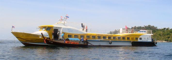 Eilandhoppen Thailand Tigerline Andaman Zee