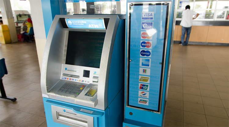 Pinautomaat Thailand