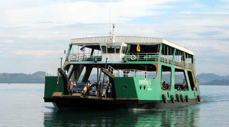 Bus van Bangkok naar Koh Chang