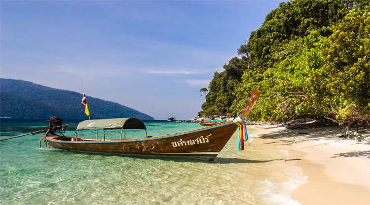 Koh Lipe longtailboot