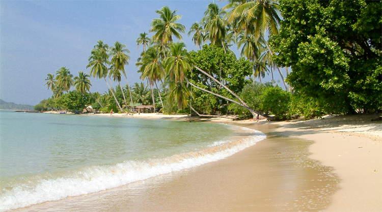 Ao Kao Beach op Koh Mak in Thailand
