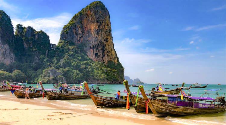 Strand op Koh Phi Phi