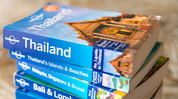 Reisgids Lonely Planet Thailand Rough Guide