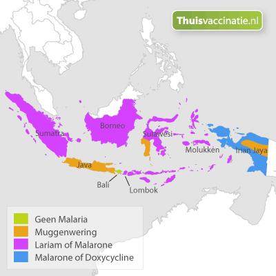 Malaria Indonesië