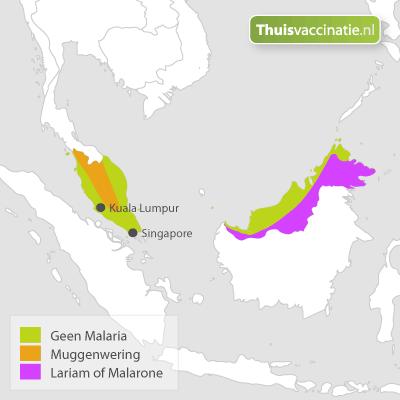 Malaria Maleisië